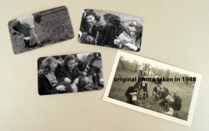 Original photo and reprints