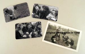 Original photo and reprints