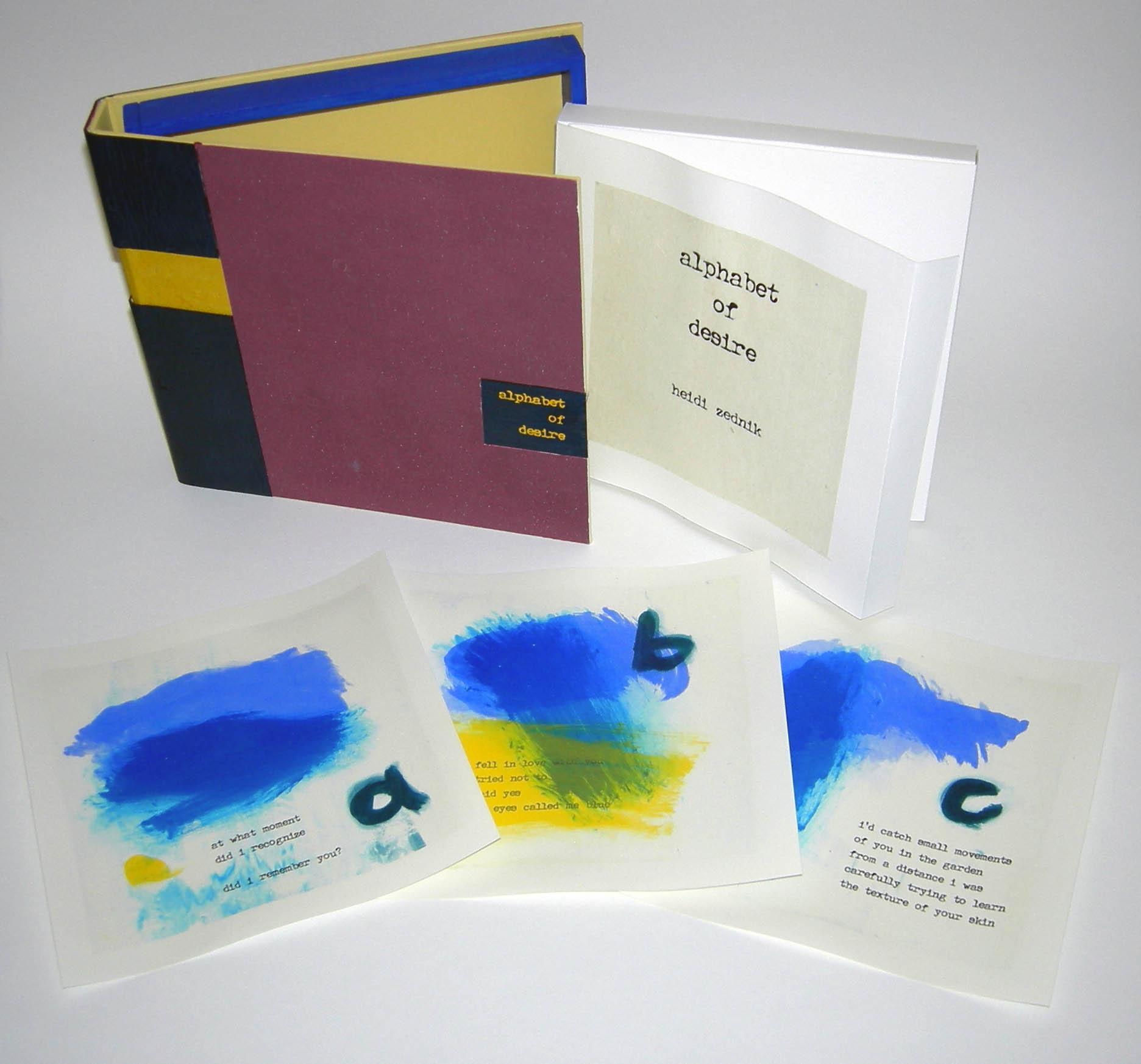 Alphabet of Desire – Boxed version – 2006