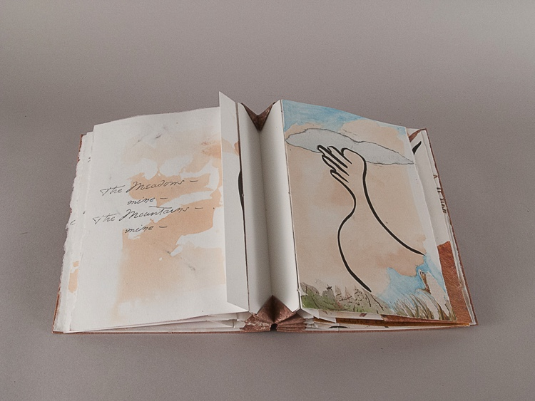 (336) by Emily Dickinson – 2016 – SOLD