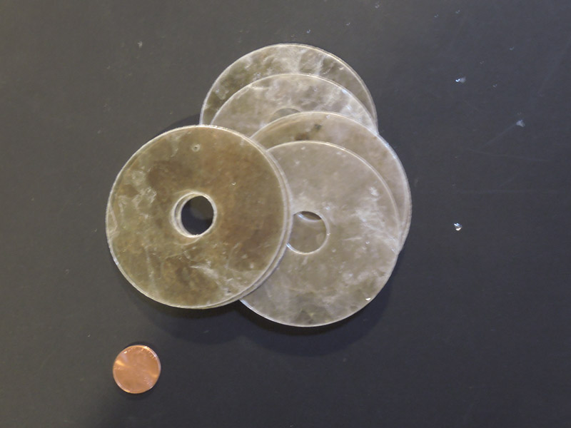 Large mica washers A